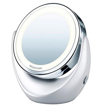 Косметическое зеркало с 5х увеличением и подсветкой LM110 Gezatone