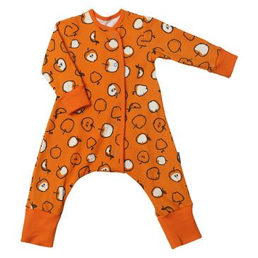 Пижама на кнопках Яблоки Bambinizon