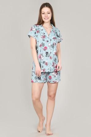Пижама (кофта, шорты) Dianida