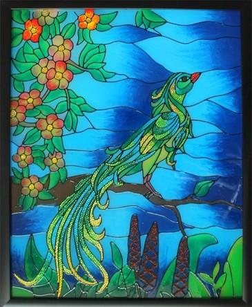 Витраж. Райская птица Color KIT