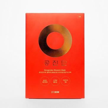 GongJin Red Омолаживающая маска для лица с экстрактом оленьих рогов Dr. Bom