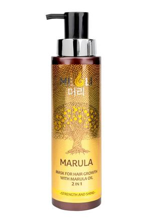 Маска для роста волос с маслом Марулы 2 в 1