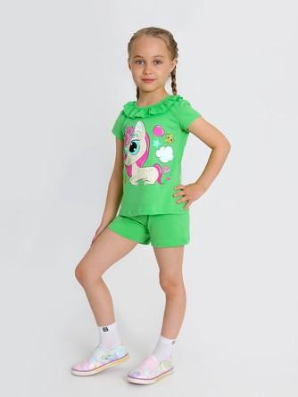 Костюм (футболка и шорты) Отрада-2 с шелкографией Ивашка