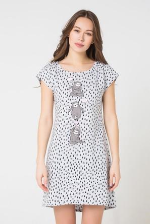 Платье женское Забавные ленивцы Trikozza