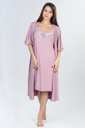 Комплект (сорочка, халат) Dianida