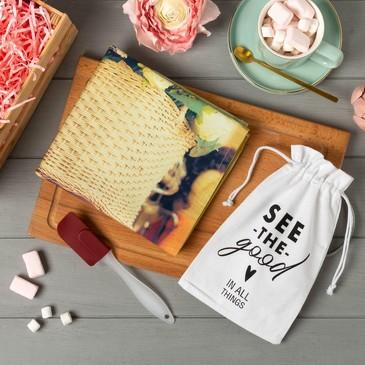 Набор подарочный (полотенце и лопатка) Hello spring Этель