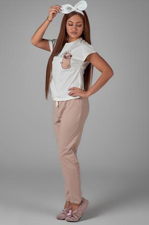 Пижама (футболка, брюки) Неженка