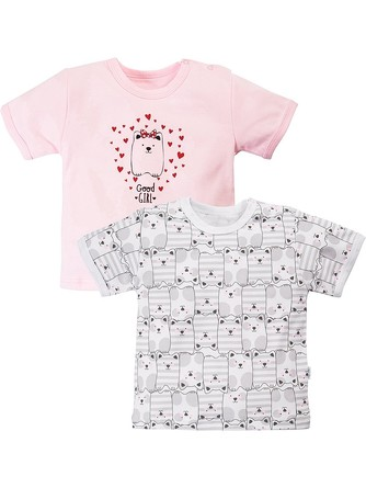 Комплект футболок (2 шт.) Пушистый щенок Веселый малыш