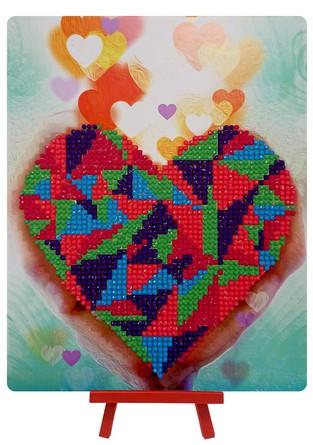 Алмазная картина. Сердце в Ваших руках  Color Kit