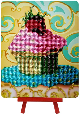 Алмазная картина. Красивый десерт  Color Kit