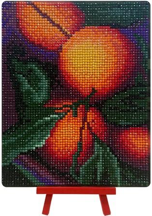 Алмазная картина. Апельсиновый аромат Color Kit