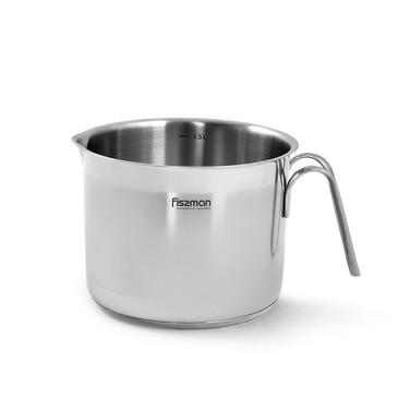 Кружка для кипячения молока 14x11см / 1,5л (нерж.сталь) Fissman