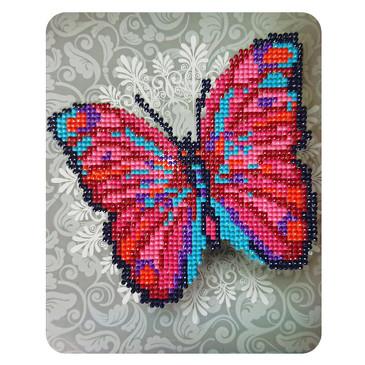 Алмазная картина. Чудо-бабочка Color Kit