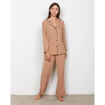 Пижама (сорочка, брюки) Light touch Minaku