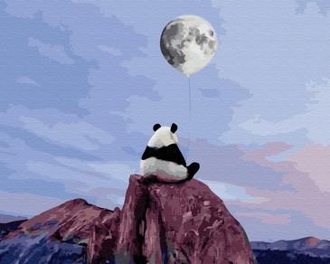 Картина по номерам на подрамнике. Лунные мечты ВанГогВоМне