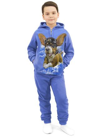 Набор флисовый  (толстовка и штаны) Пёс авиатор MF