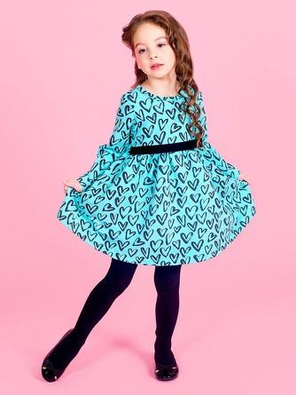 Платье с дл. рукавом Веселый малыш