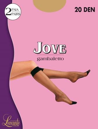 Гольфы Jove 20 den (4 уп. по 2 пары) Levante