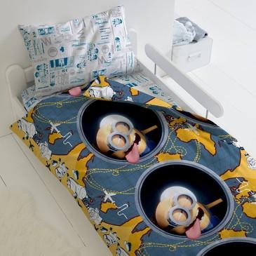 Комплект постельного белья Миньоны