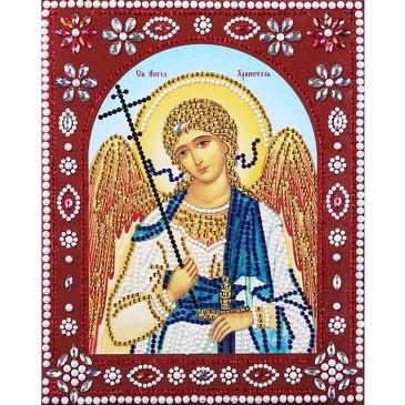 Икона с фигурными стразами. Святой Ангел Хранитель  Color Kit