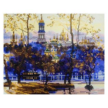 Алмазная картина. Русский пейзаж Color Kit