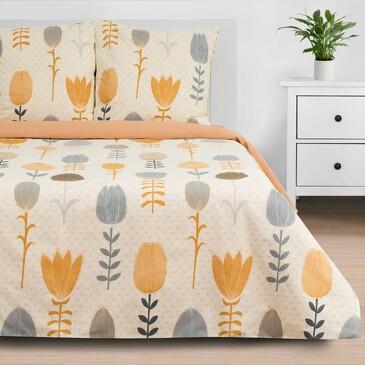 Комплект постельного белья Autumn flowers, бязь Этель