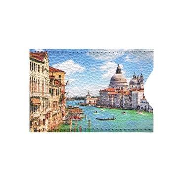 Чехол для карт 2 оделения Лето в Венеции Eshemoda