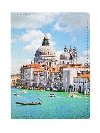 Обложка на паспорт Лето в Венеции Eshemoda