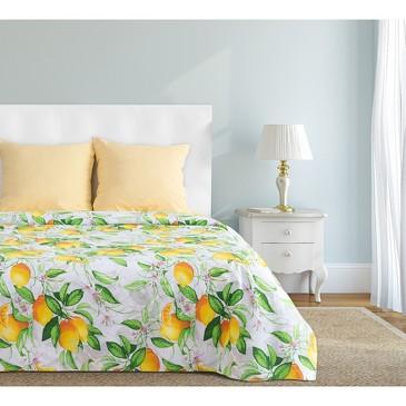 Комплект постельного белья Лимонное утро, бязь Этель