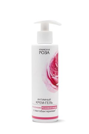 Крем-гель для интимной гигиены Роза с лактобактериями (200 мл) Крымская роза