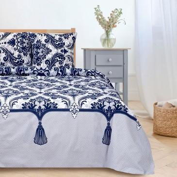 Комплект постельного белья Дамаск 3, поплин Этель