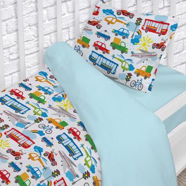 Комплект постельного белья на резинке Непоседа