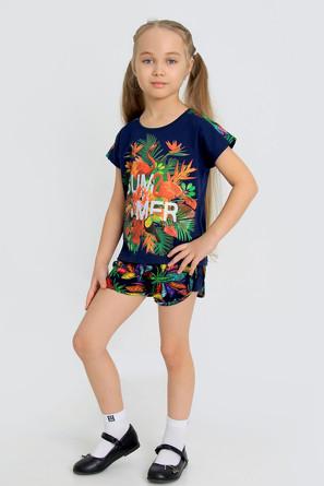 Костюм (футболка и шорты) Бали-1 с шелкограифей Ивашка