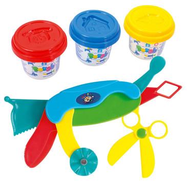 Набор с пластилином и инструментами PlayGo