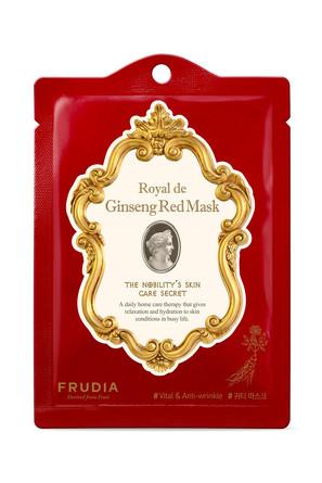 Набор (3 шт.) Омолаживающая маска с красным жень-шенем Frudia