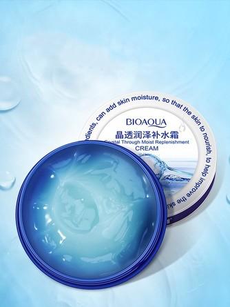 Увлажняющий питательный крем для лица с гиалуроновой кислотой Bioaqua