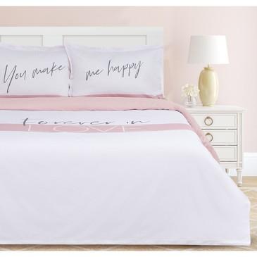 Комплект постельного белья Make me happy, мако-сатин Этель