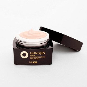 GongJin Black Интенсивно увлажняющий крем для век с экстрактом оленьих рогов Dr. Bom