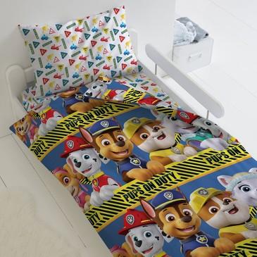 Комплект постельного белья Щенячий патруль