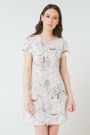 Платье женское Цветы на меланже Trikozza