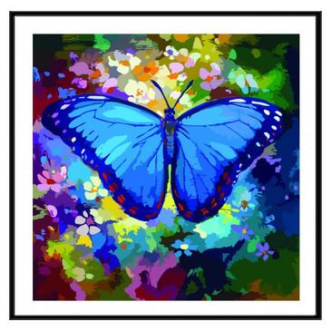 Картина по номерам. Голубая симфония Color KIT