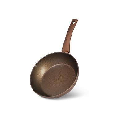 Глубокая cковорода MICA STONE GOLD 24x6,5см  Fissman