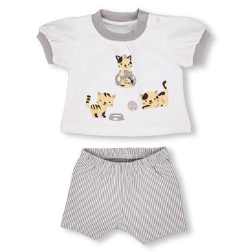 Комплект Котейка (футболка и лосины) LEO