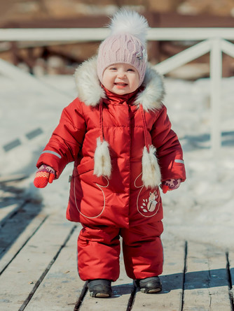 Комплект зимний (куртка и полукомбинезон) Сказка Emson