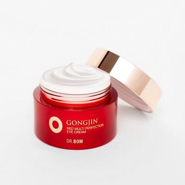GongJin Red Омолаживающий крем для век с экстрактом оленьих рогов Dr. Bom
