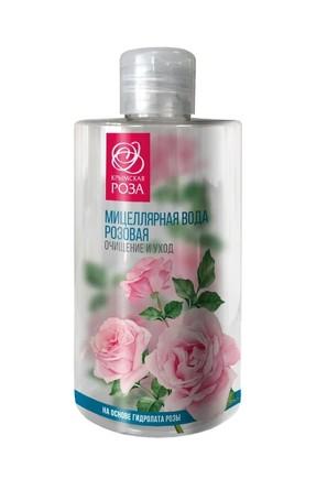Мицеллярная вода на основе гидролата Роза (450 мл) Крымская роза