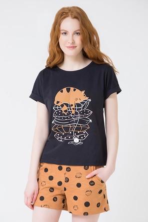 Комплект Кошки (футболка и шорты) Trikozza