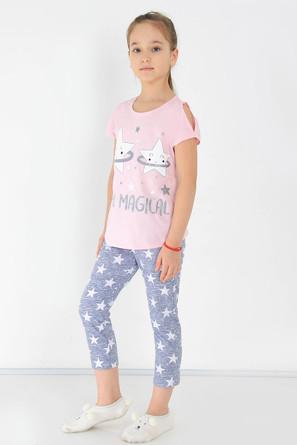 Костюм (футболка и брюки) Саманта-1 с шелкографией Ивашка
