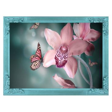 Вышивка бисером на подрамнике. Нежная орхидея Color KIT
