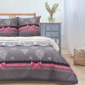 Комплект постельного белья Кружевная фантазия (вид 2), поплин Этель